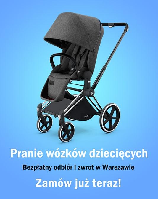Pranie wózków dziecięcych